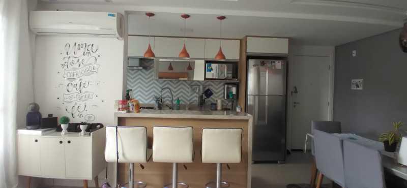 cozinha americana. - Apartamento 2 quartos à venda Penha, Rio de Janeiro - R$ 400.000 - VPAP21815 - 7