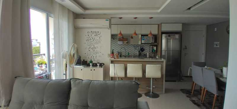 sala e cozinha. - Apartamento 2 quartos à venda Penha, Rio de Janeiro - R$ 400.000 - VPAP21815 - 5