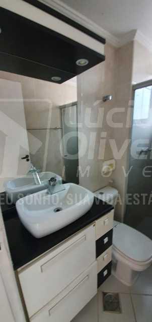 Banheiro social. - Apartamento 2 quartos à venda Abolição, Rio de Janeiro - R$ 225.000 - VPAP21853 - 9
