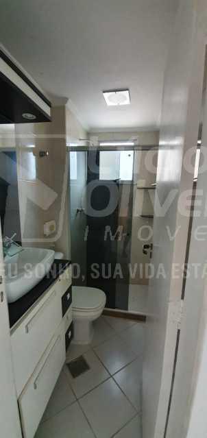 Banheiro social - Apartamento 2 quartos à venda Abolição, Rio de Janeiro - R$ 225.000 - VPAP21853 - 10