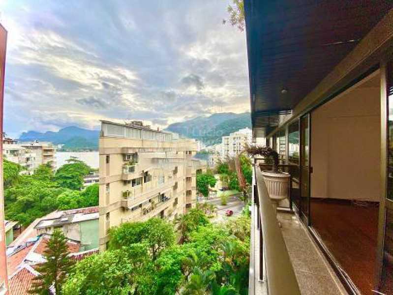 Vista Sala - Apartamento 3 quartos à venda Lagoa, Rio de Janeiro - R$ 2.300.000 - VPAP30488 - 1