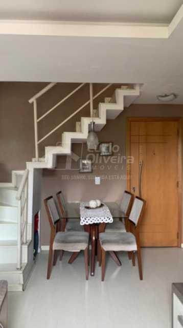 sala 1 - Cobertura 2 quartos à venda Taquara, Rio de Janeiro - R$ 450.000 - VPCO20022 - 3