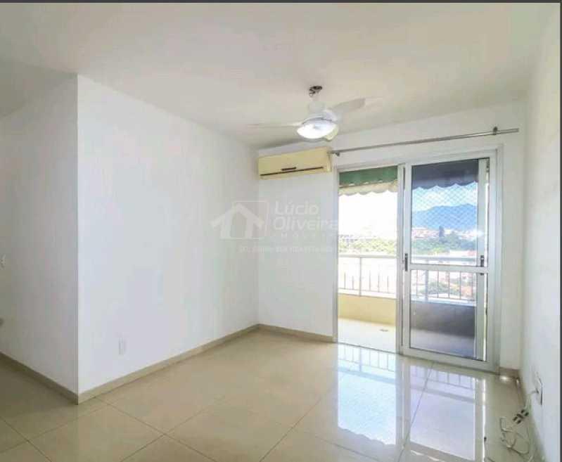 Sala ambiente acesso varanda - Cobertura 3 quartos à venda Taquara, Rio de Janeiro - R$ 440.000 - VPCO30044 - 1
