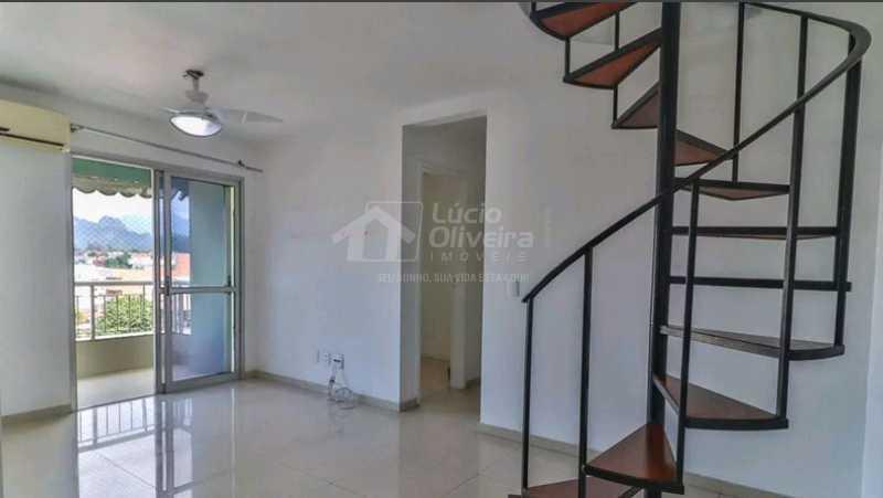 Sala ambiente - Cobertura 3 quartos à venda Taquara, Rio de Janeiro - R$ 440.000 - VPCO30044 - 3