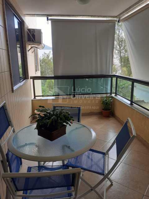 Varandão. - Apartamento 3 quartos à venda Recreio dos Bandeirantes, Rio de Janeiro - R$ 570.000 - VPAP30492 - 3
