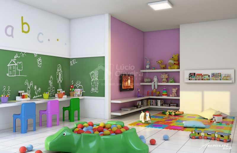 Brinquedoteca - Apartamento à venda Estrada da Água Grande,Vista Alegre, Rio de Janeiro - R$ 270.000 - VPAP21877 - 11