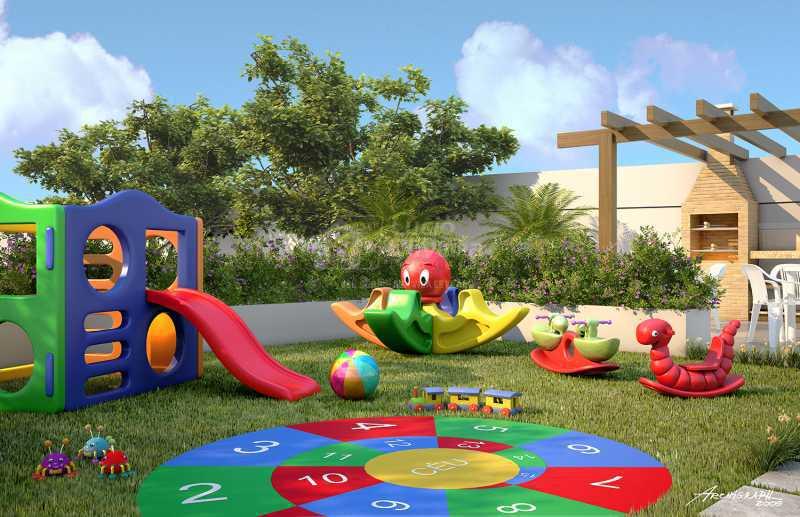 Playground - Apartamento à venda Estrada da Água Grande,Vista Alegre, Rio de Janeiro - R$ 270.000 - VPAP21877 - 13