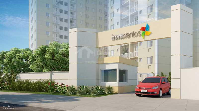 Portaria - Apartamento à venda Estrada da Água Grande,Vista Alegre, Rio de Janeiro - R$ 270.000 - VPAP21877 - 14