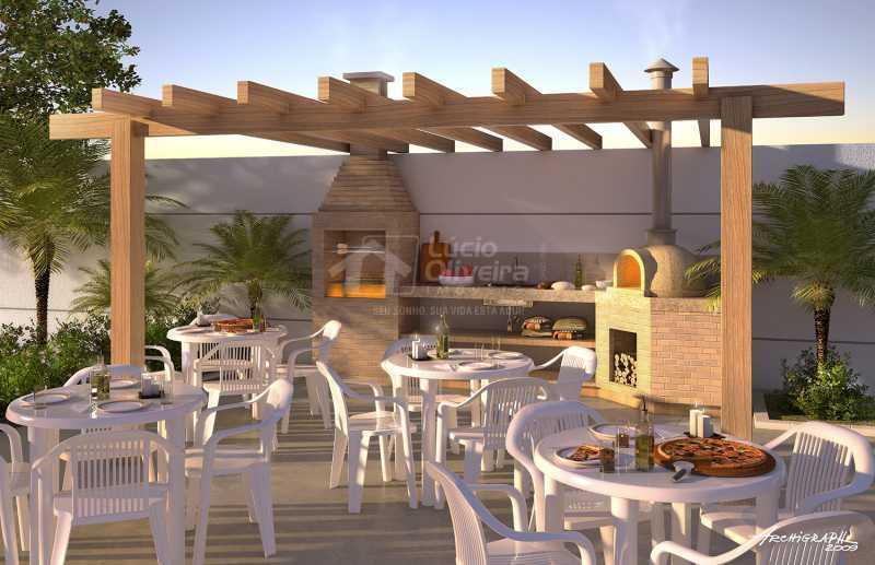 Salão de festas - Apartamento à venda Estrada da Água Grande,Vista Alegre, Rio de Janeiro - R$ 270.000 - VPAP21877 - 15