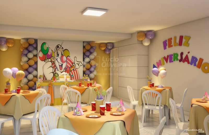 Salão festas infantil - Apartamento à venda Estrada da Água Grande,Vista Alegre, Rio de Janeiro - R$ 270.000 - VPAP21877 - 16