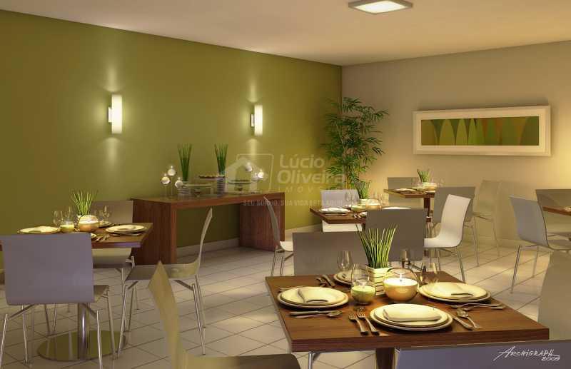 Salão festas - Apartamento à venda Estrada da Água Grande,Vista Alegre, Rio de Janeiro - R$ 270.000 - VPAP21877 - 17