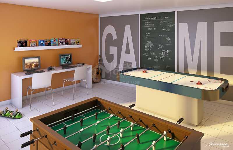 Salão Jogos - Apartamento à venda Estrada da Água Grande,Vista Alegre, Rio de Janeiro - R$ 270.000 - VPAP21877 - 18