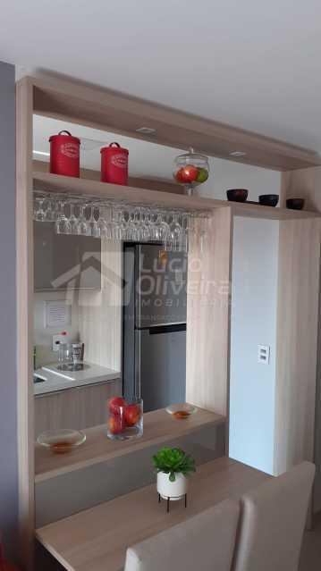 Sala e cozinha. - Apartamento 2 quartos à venda Maria da Graça, Rio de Janeiro - R$ 295.000 - VPAP21887 - 12