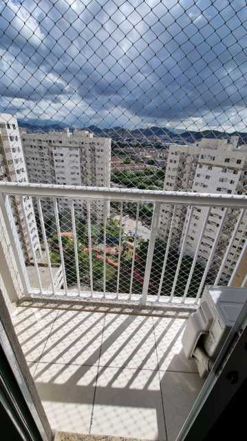 Varanda sala - Apartamento 2 quartos à venda Del Castilho, Rio de Janeiro - R$ 360.000 - VPAP21888 - 25