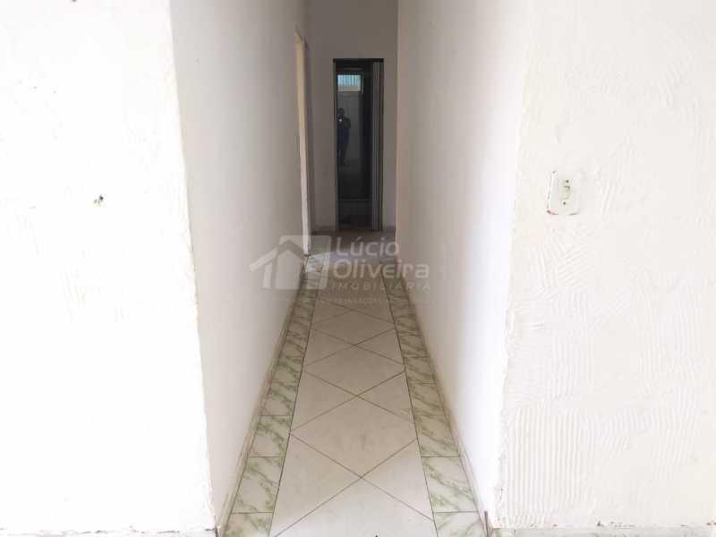 Corredor. - Casa 1 quarto para venda e aluguel Vila Kosmos, Rio de Janeiro - R$ 135.000 - VPCA10039 - 3