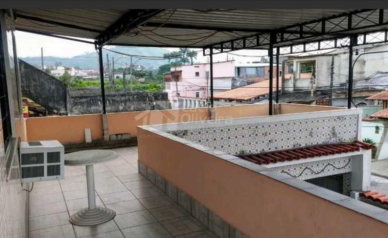 Terraço coberto.... - Casa à venda Rua Eduardo Studart,Campo Grande, Rio de Janeiro - R$ 350.000 - VPCA50038 - 19