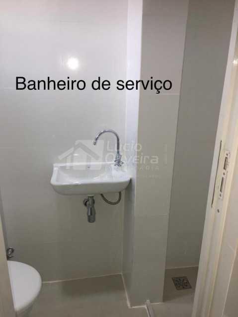 Banheiro de serviço - Apartamento à venda Rua São Francisco Xavier,Maracanã, Rio de Janeiro - R$ 475.000 - VPAP21919 - 16