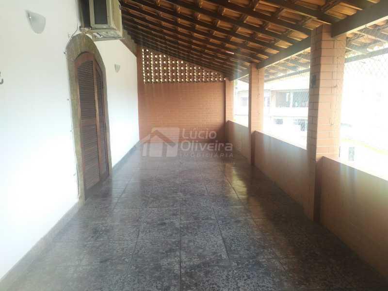 Varanda dos quartos - Casa para alugar Rua Aiera,Vila Kosmos, Rio de Janeiro - R$ 2.750 - VPCA20359 - 17