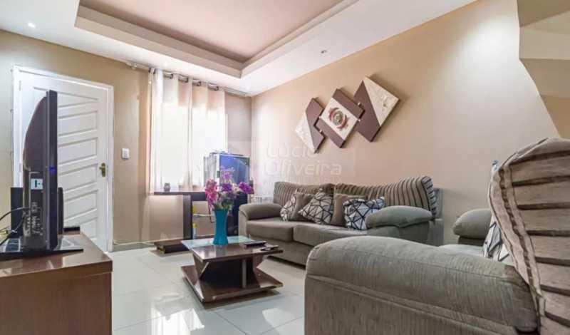 1-Sala ambiente - Casa de Vila à venda Rua Imuta,Pechincha, Rio de Janeiro - R$ 480.000 - VPCV30036 - 4