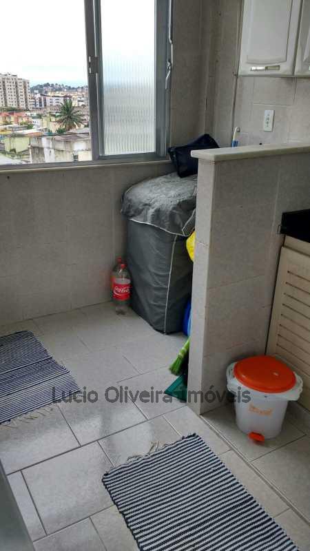 Área de serviço - Excelente apartamento, 2qtos. - VPAP20320 - 10