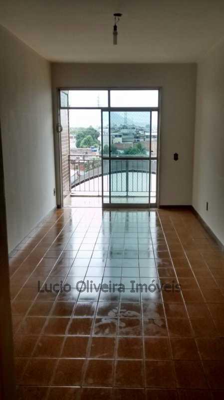 Sala Com varanda - Apartamento À Venda - Cordovil - Rio de Janeiro - RJ - VPAP20337 - 1