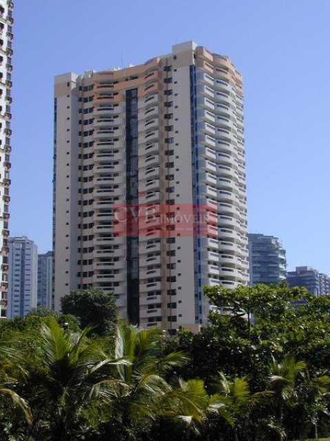 01 - Apartamento 3 quartos para alugar Barra da Tijuca, Rio de Janeiro - R$ 3.000 - 03025 - 1
