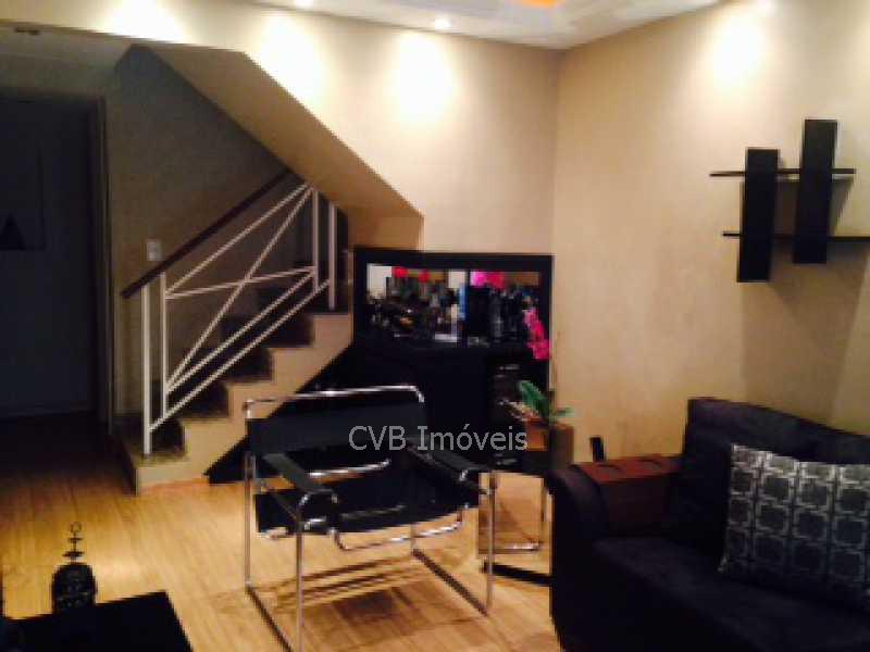 2 Sala de Estar - Casa em Condomínio 4 quartos à venda Taquara, Rio de Janeiro - R$ 589.000 - 045201 - 8