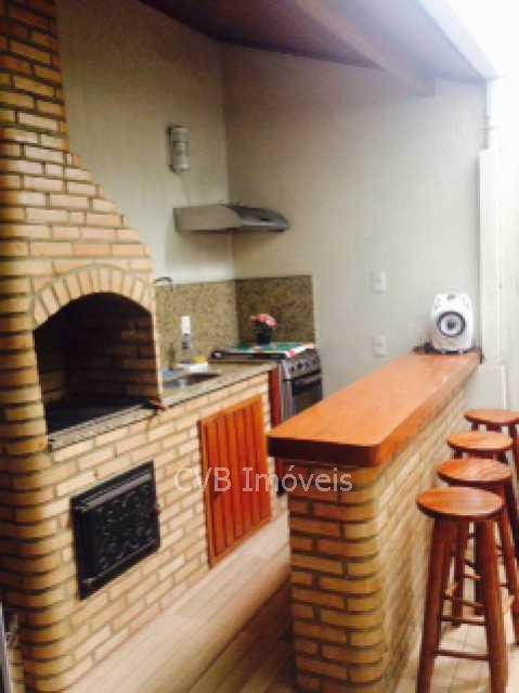 28 Churrasqueiro - Casa em Condomínio 4 quartos à venda Taquara, Rio de Janeiro - R$ 589.000 - 045201 - 15