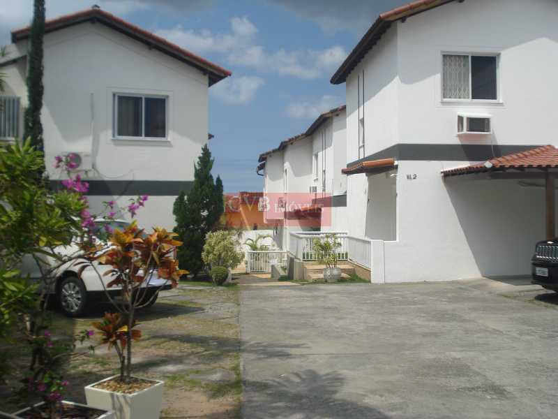 1 - Casa em Condomínio 3 quartos à venda Taquara, Rio de Janeiro - R$ 400.000 - 035414 - 1