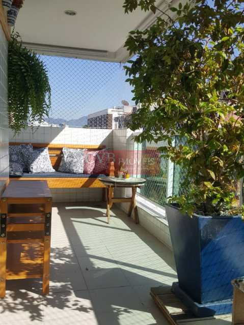 varanda - Apartamento À Venda no Condomínio Vittá Araguaia - Freguesia (Jacarepaguá) - Rio de Janeiro - RJ - 030357 - 27