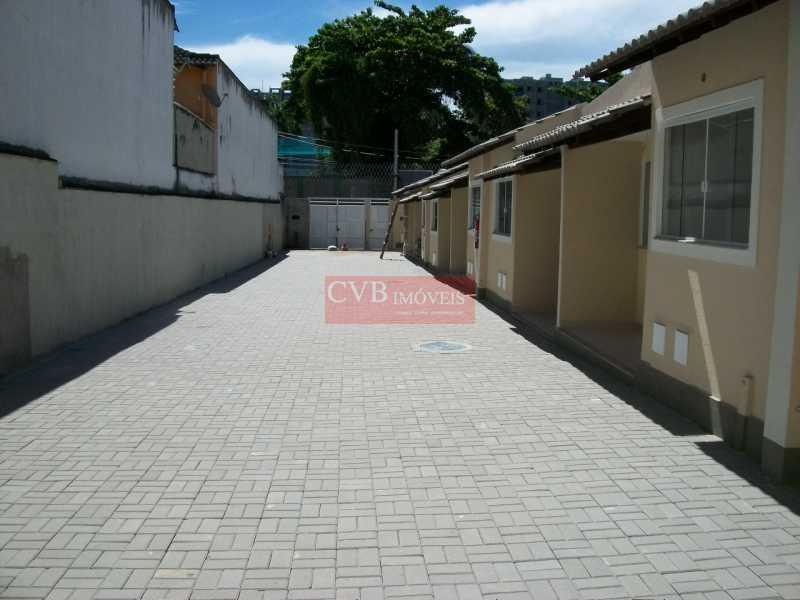 CASA  LUSSAC 060 - Casa de Vila 3 quartos à venda Taquara, Rio de Janeiro - R$ 260.000 - CTC2001 - 3