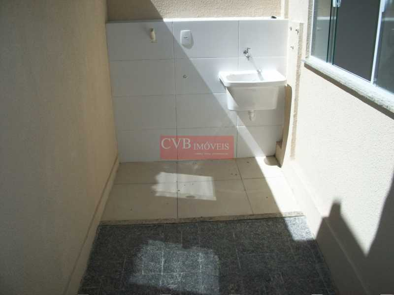 CASA  LUSSAC 069 - Casa de Vila 3 quartos à venda Taquara, Rio de Janeiro - R$ 260.000 - CTC2001 - 7