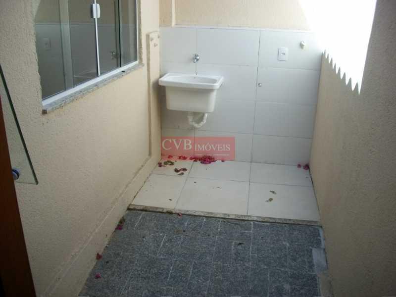 CASA  LUSSAC 028 - Casa de Vila 3 quartos à venda Taquara, Rio de Janeiro - R$ 260.000 - CTC2001 - 21