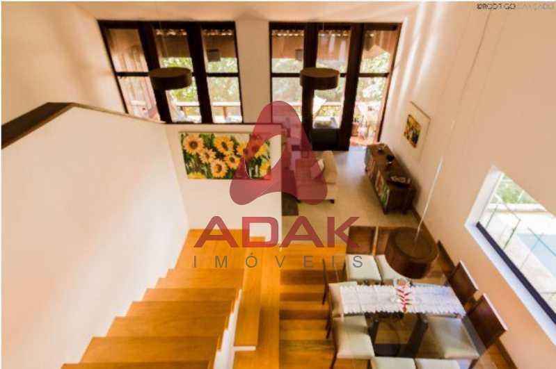 1 - Casa 5 quartos para venda e aluguel Laranjeiras, Rio de Janeiro - R$ 2.800.000 - LACA50013 - 1