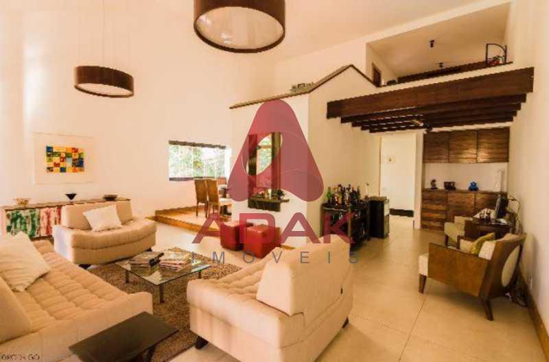 2 - Casa 5 quartos para venda e aluguel Laranjeiras, Rio de Janeiro - R$ 2.800.000 - LACA50013 - 3