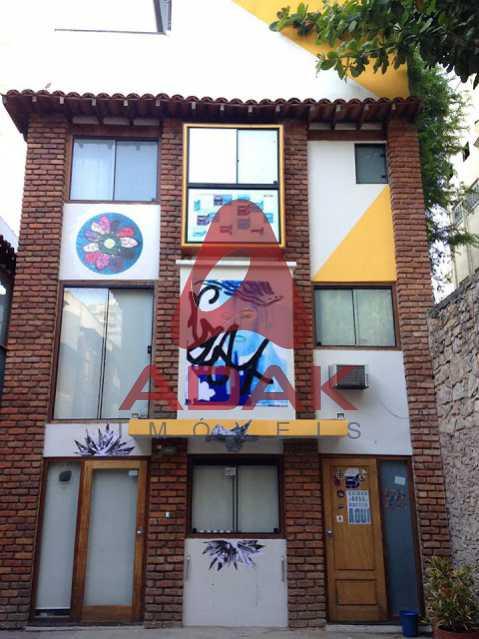 fachadax casa - Casa de Vila à venda Laranjeiras, Rio de Janeiro - R$ 965.000 - LACV00001 - 1