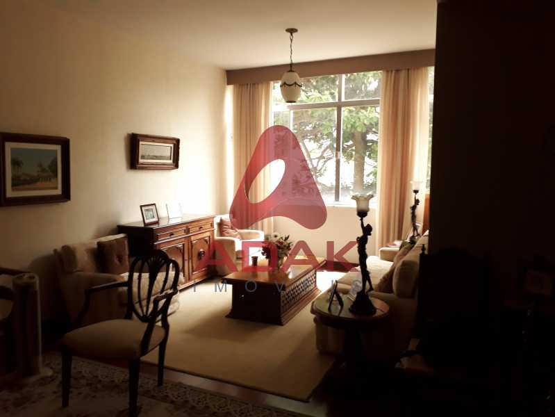 Sala de Estar  - Apartamento 3 quartos à venda Urca, Rio de Janeiro - R$ 1.400.000 - LAAP30479 - 1