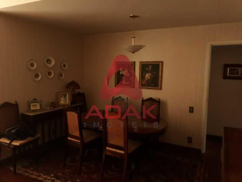 Sala de jantar  - Apartamento 3 quartos à venda Urca, Rio de Janeiro - R$ 1.400.000 - LAAP30479 - 7