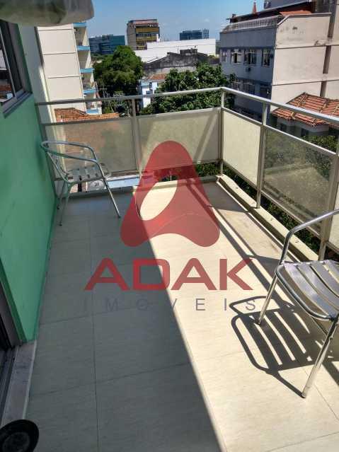 Varanda - Apartamento 2 quartos à venda Estácio, Rio de Janeiro - R$ 450.000 - CTAP20446 - 10