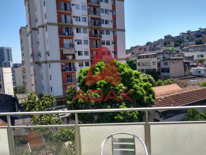 Vista da varanda - Apartamento 2 quartos à venda Estácio, Rio de Janeiro - R$ 450.000 - CTAP20446 - 11