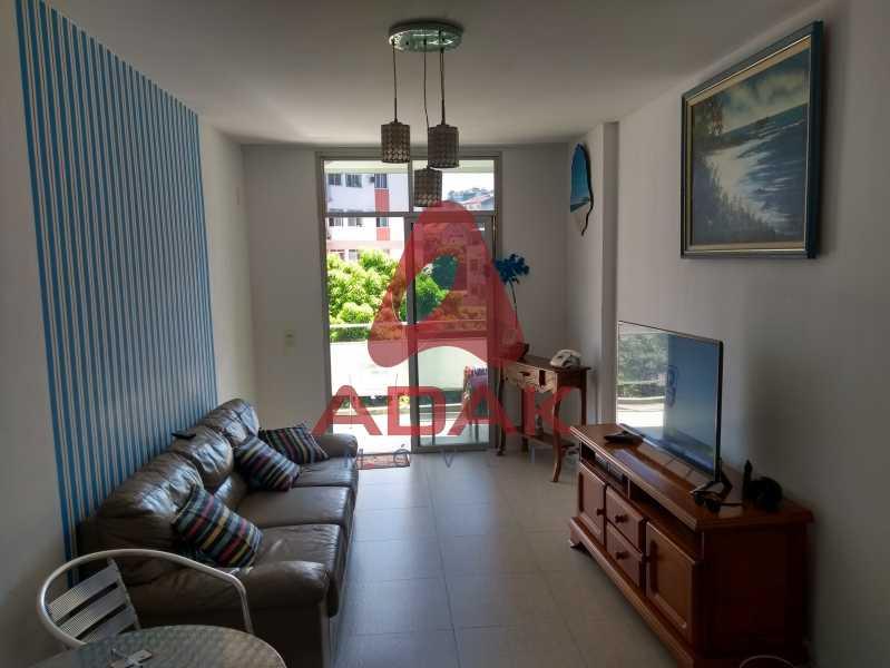 Sala - Apartamento 2 quartos à venda Estácio, Rio de Janeiro - R$ 450.000 - CTAP20446 - 1