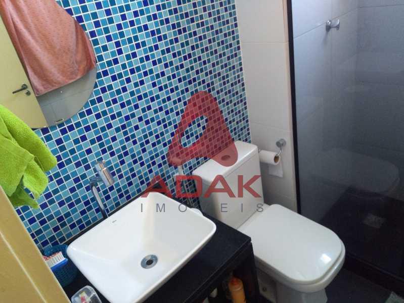 Banheiro principal - Apartamento 2 quartos à venda Estácio, Rio de Janeiro - R$ 450.000 - CTAP20446 - 17