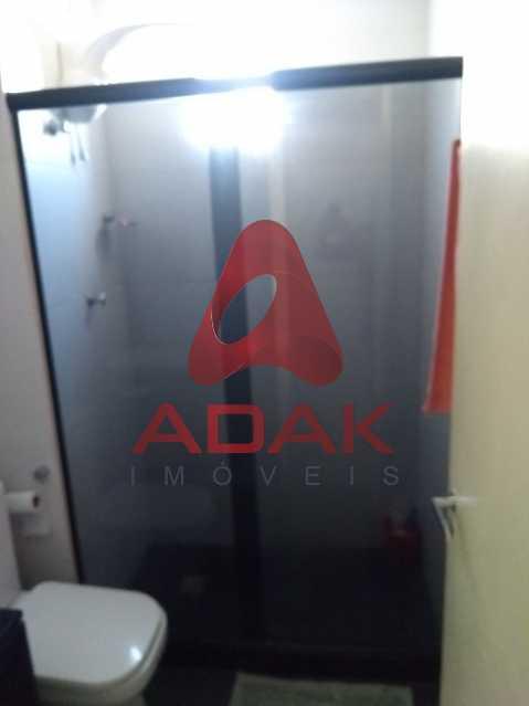 Banheiro principal - Apartamento 2 quartos à venda Estácio, Rio de Janeiro - R$ 450.000 - CTAP20446 - 18