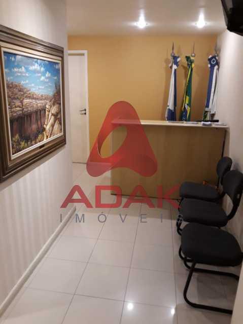 Recepção 02 - Andar 188m² à venda Centro, Rio de Janeiro - R$ 700.000 - CTAN00005 - 14