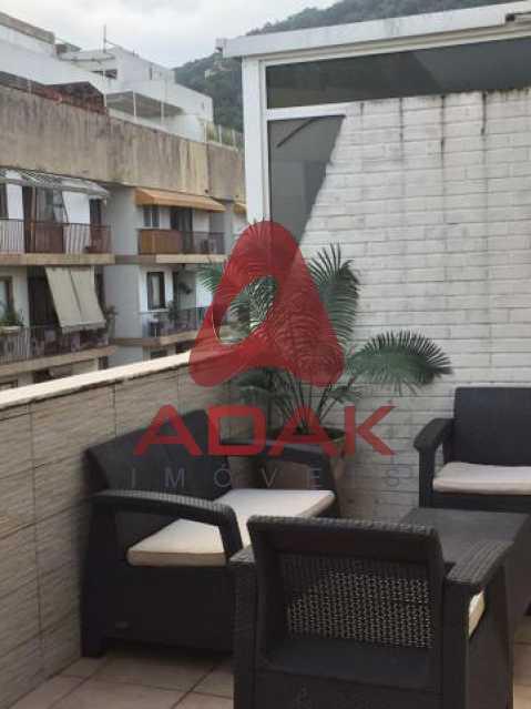 346013024059062 - Apartamento 1 quarto para alugar Gávea, Rio de Janeiro - R$ 3.500 - CPAP11493 - 1