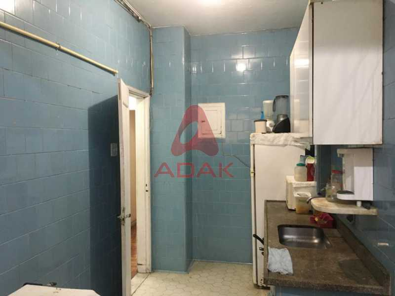 Area de serviço e cozinha 2. - Apartamento à venda Copacabana, Rio de Janeiro - R$ 800.000 - CPAP00370 - 22