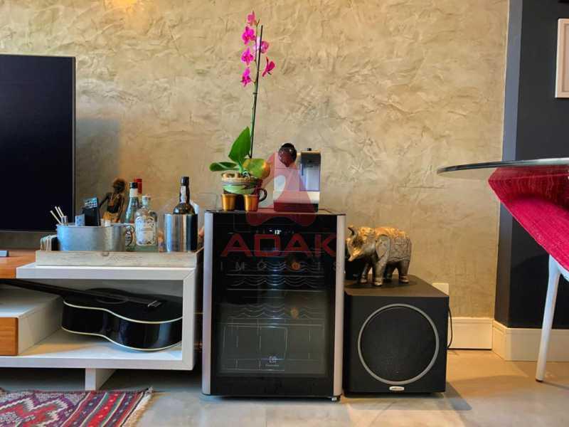 Sala - Apartamento 2 quartos à venda Ipanema, Rio de Janeiro - R$ 825.000 - CPAP21053 - 4