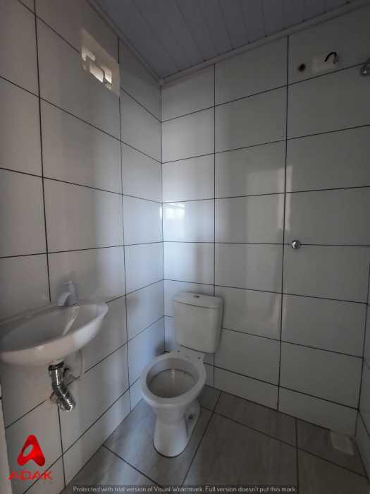 BANHEIRO - Casa de Vila 1 quarto para alugar Cidade Nova, Rio de Janeiro - R$ 900 - CTCV10021 - 3