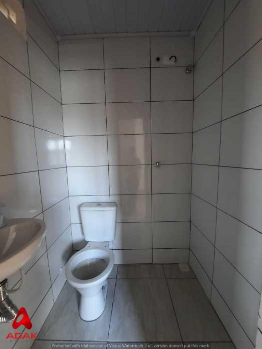 BANHEIRO - Casa de Vila 1 quarto para alugar Cidade Nova, Rio de Janeiro - R$ 900 - CTCV10021 - 10