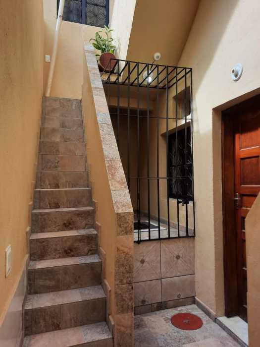 CORREDOR - Casa de Vila 1 quarto para alugar Cidade Nova, Rio de Janeiro - R$ 900 - CTCV10021 - 26